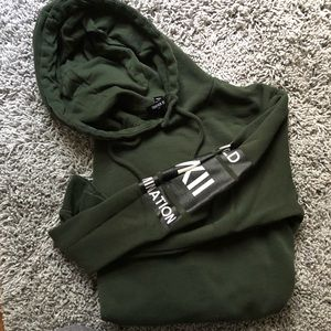 forever 21 men's graphic hoodie
